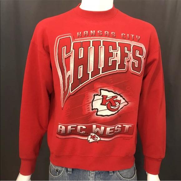 906da19a Kansas City Chiefs Vintage 90s Crewneck Sweatshirt